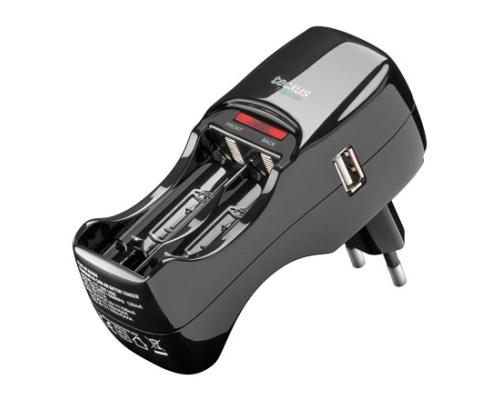 Steckerladegeraet-TC200USB-fuer-Mignon-AA-Micro-AAA-USB-Geraete