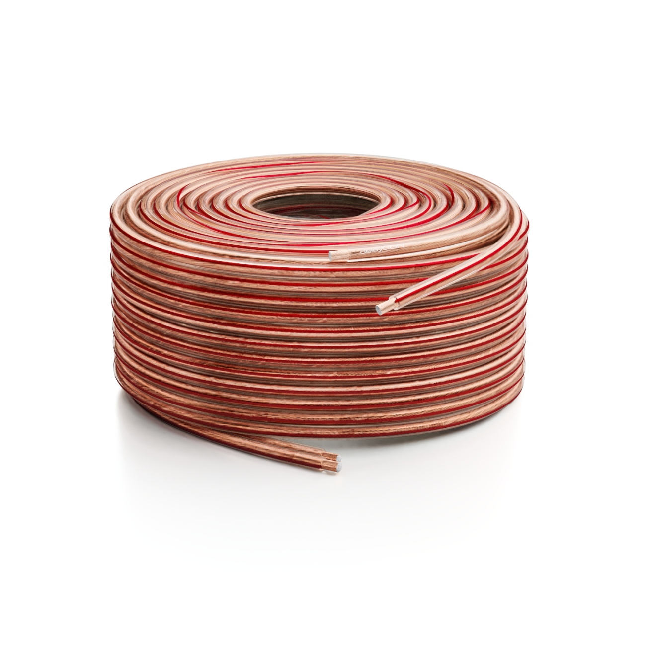 deleyCON 10m Lautsprecherkabel 2x2,5mm² Kupfer Boxenkabel Lautsprecher Kabel