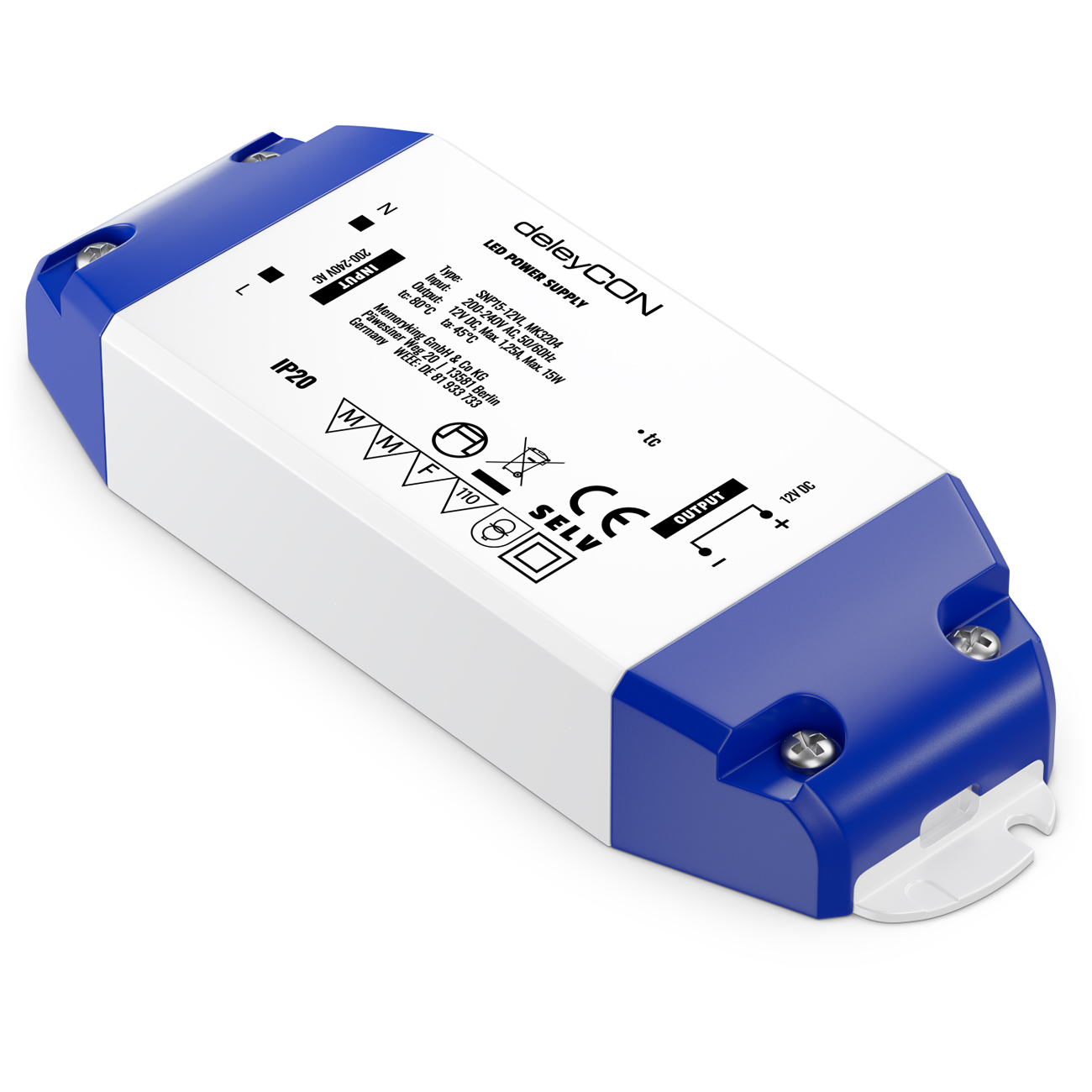 LED Transformator Trafo Konverter 5W 15W DC 12V Netzteil Treiber für LED G4