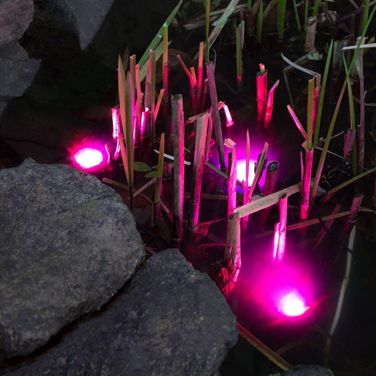 solar led strahler led lampe wasserdicht teichbeleuchtung teich lampen garten ebay. Black Bedroom Furniture Sets. Home Design Ideas
