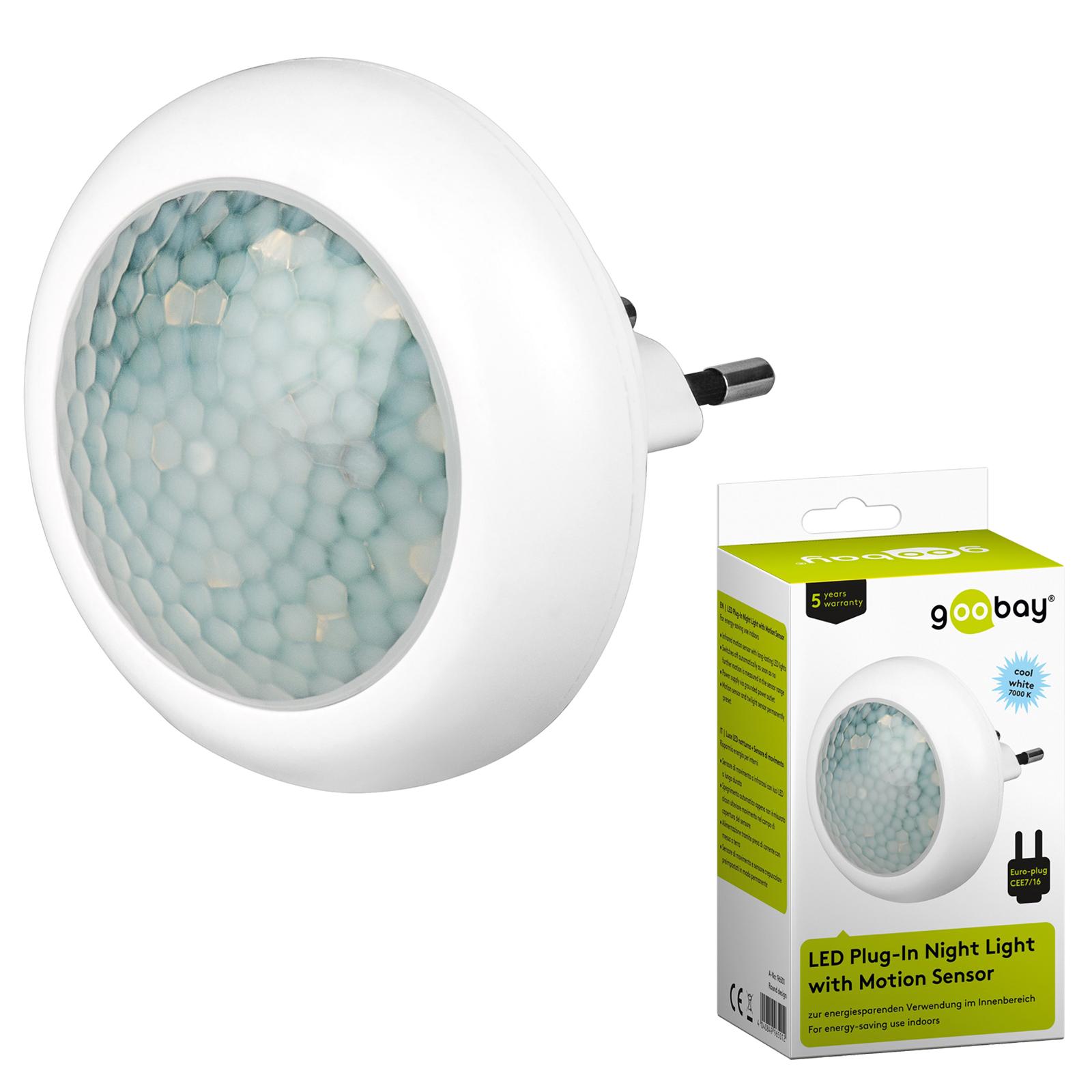led nachtlicht mit bewegungsmelder f r steckdose 8 leds nachtlicht nachtlampe ebay. Black Bedroom Furniture Sets. Home Design Ideas