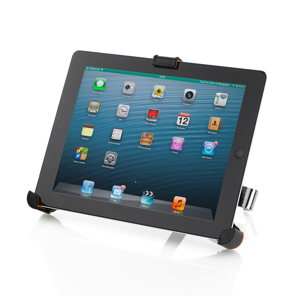 universal tablet halter auto kfz kopfst tzen halterung 7 8 5 zoll drehbar ebay. Black Bedroom Furniture Sets. Home Design Ideas