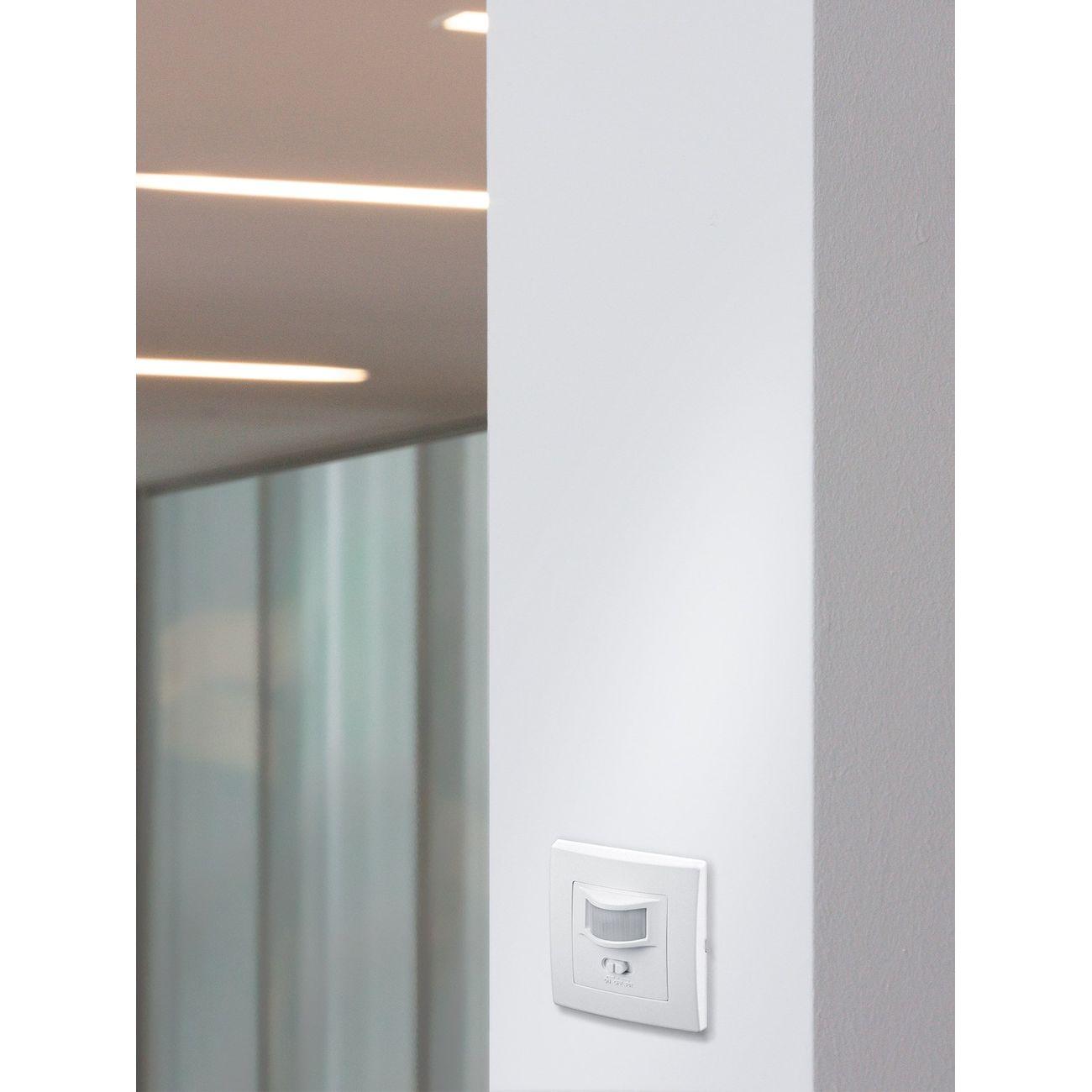 infrarot bewegungsmelder unterputz wand einbau 160 f r lampen leuchten led ebay. Black Bedroom Furniture Sets. Home Design Ideas